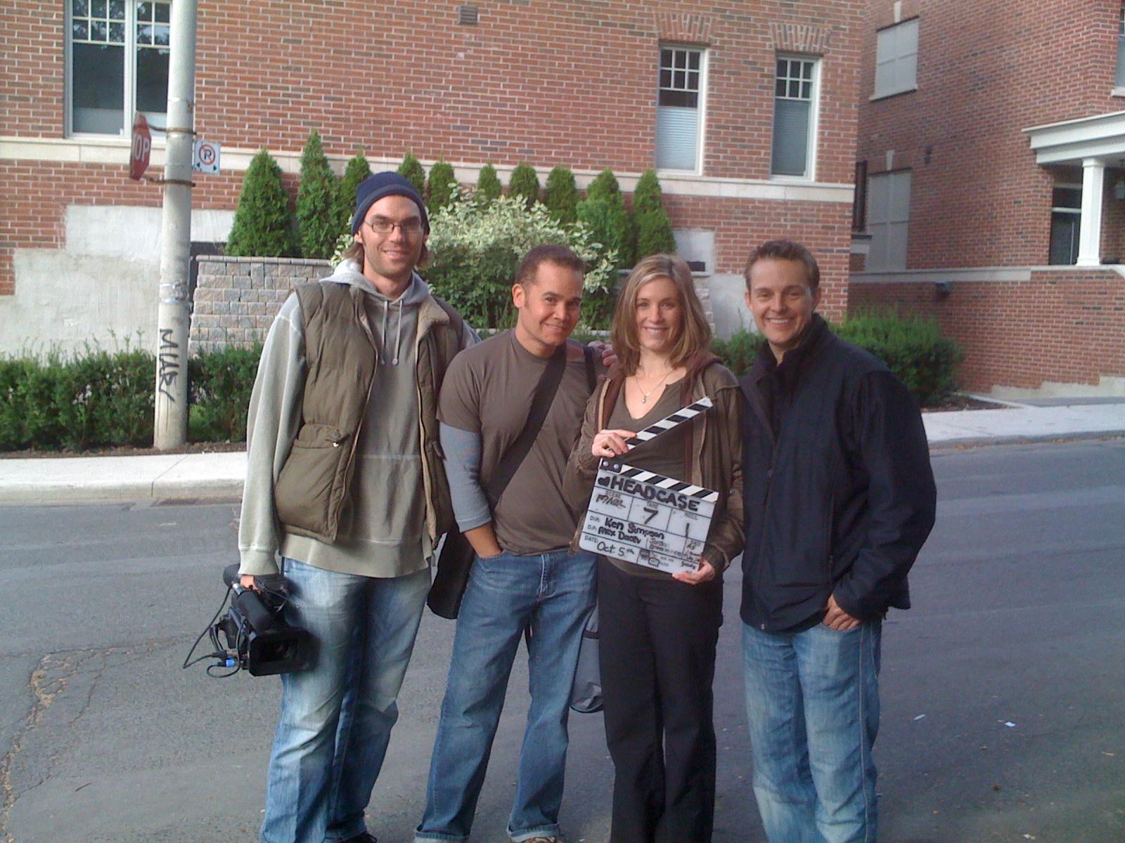 From Left to Right: Ken Simpson, Anthony Greene, Jodi Behan & Alex Jordan