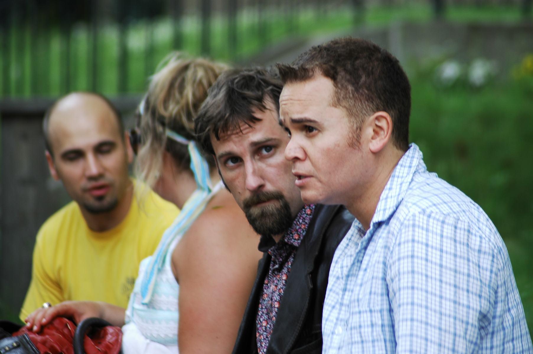 Actors, Leon Bearman & Anthony Greene