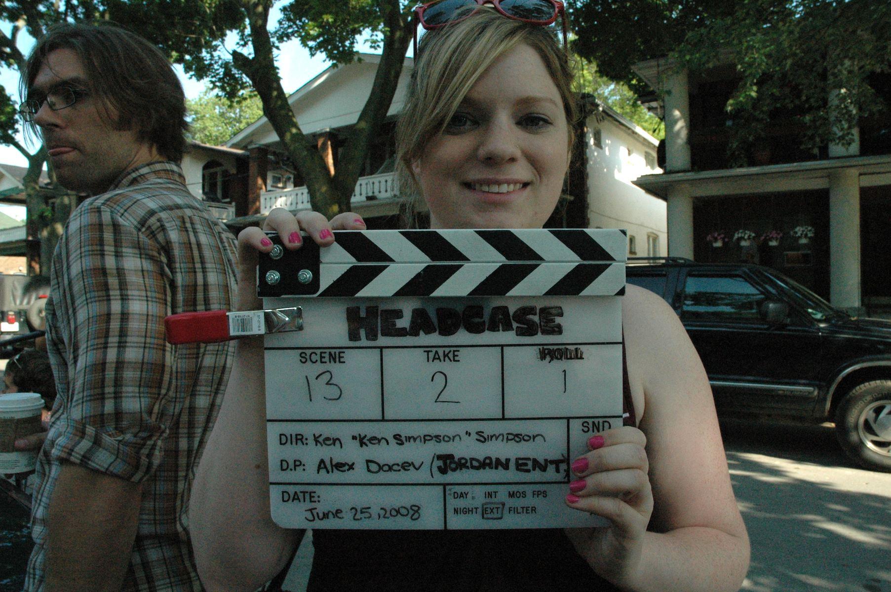 Camera Assistant, Kara MacLean