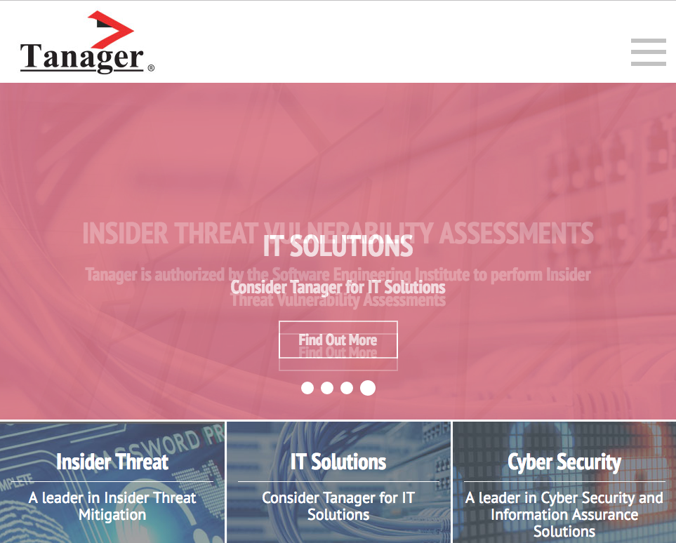 Sample web content project - Tanager, Inc.