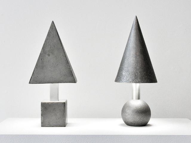 Cast Concrete & Aluminum