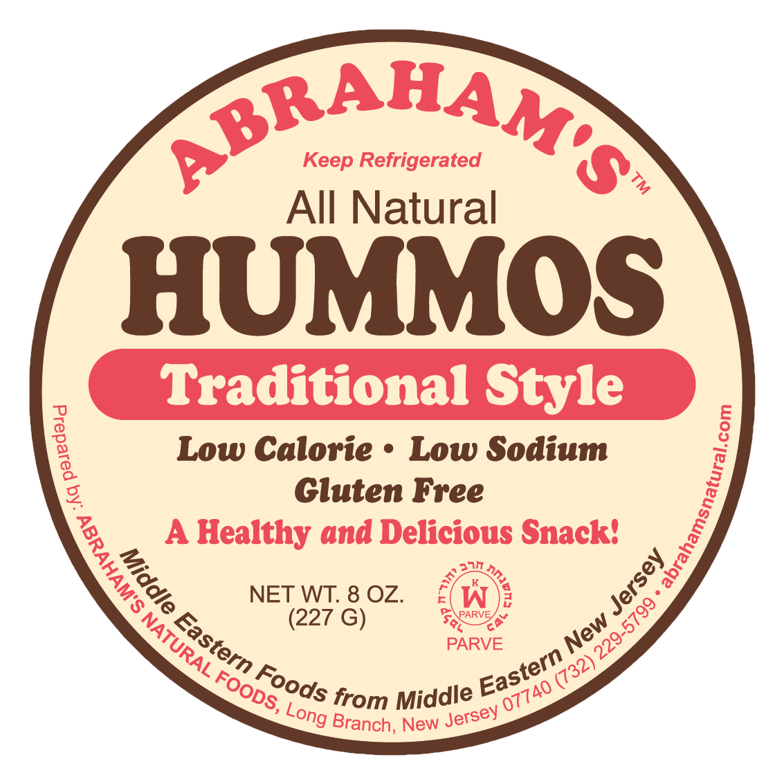 Abrahams 8 oz Hummos Top Traditional.png