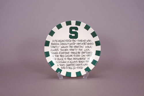 Collectable plates | Sold in a variety of universities
