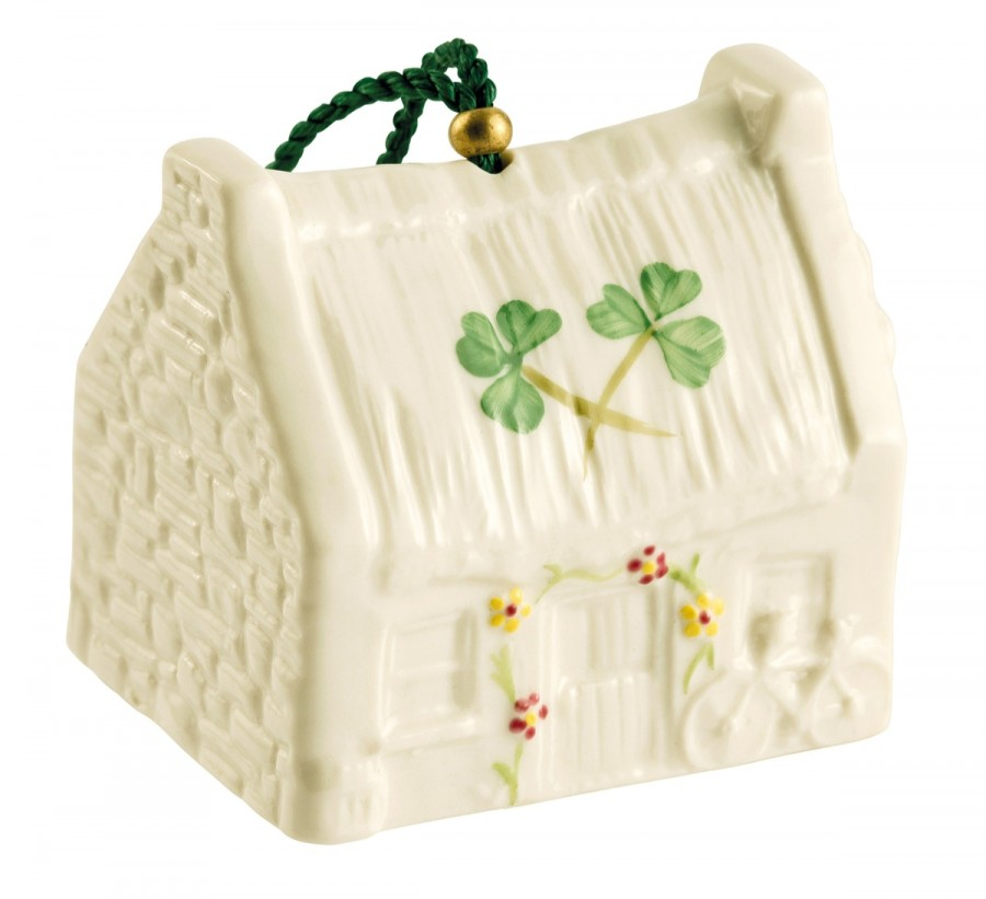 Belleek 2014 | Claddagh Cottage Bell  4233 - Fine Parian China | $35.00 Made in Ireland