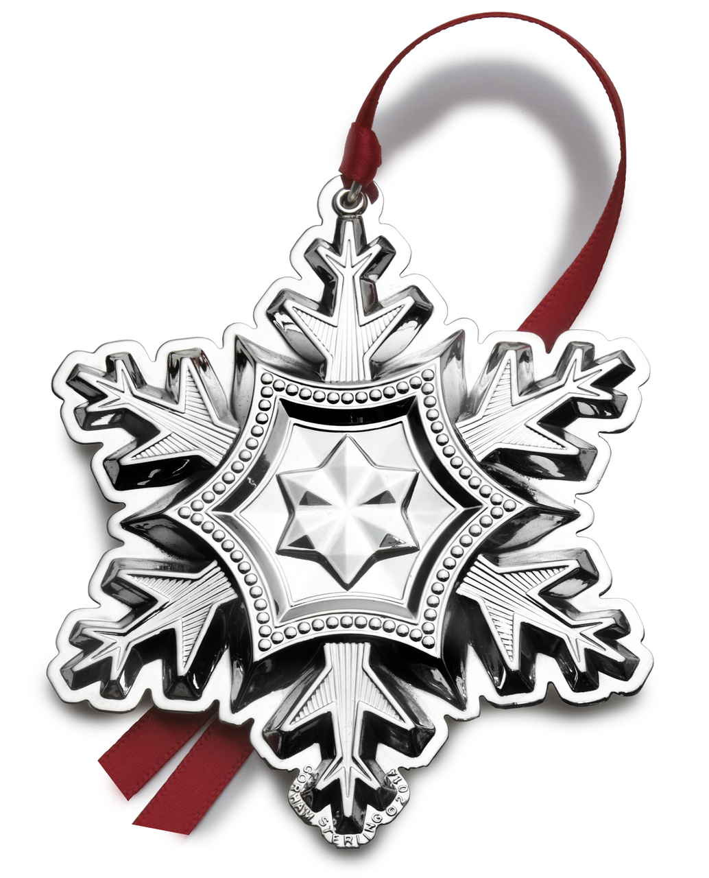Gorham 2014 | Snowflake 45th Edition 5127521 - Sterling Silver | $150.00 Made in the USA
