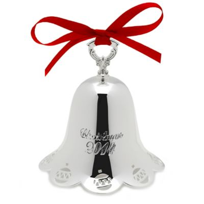 Towle 2014 | Holiday Bell 35th Edition  5127500 - Silver-Plated | $30.00  Made in the USA