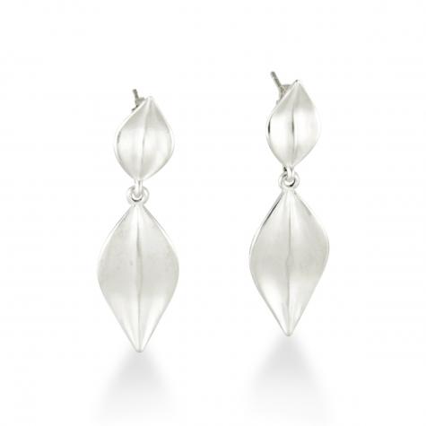 Sterling Leaf Drop Earrings  Sku: 770-02698 Retail 135.00