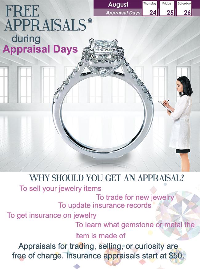 Siegel Jewelers Appraisal Days