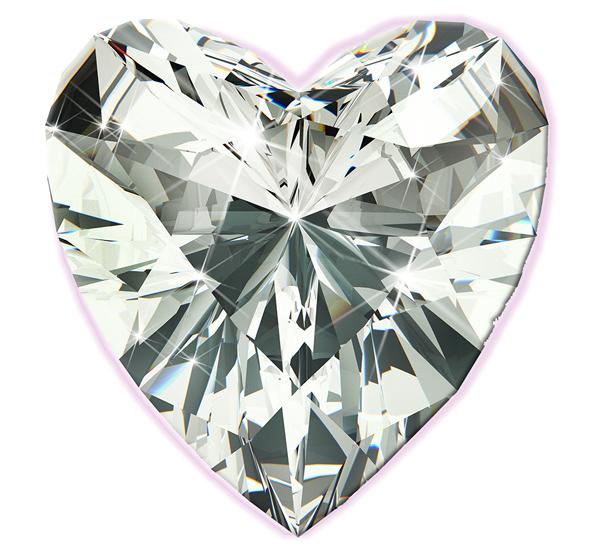 heart diamond Siegel Jewelers