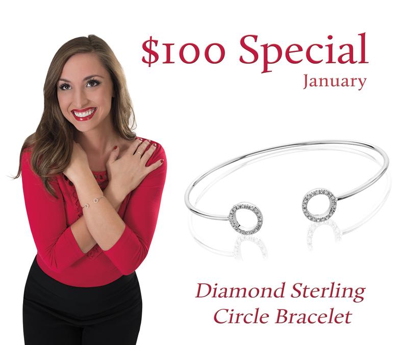 Siegel Jewelers Diamond Bracelet 100SpecialJan18-web.jpg