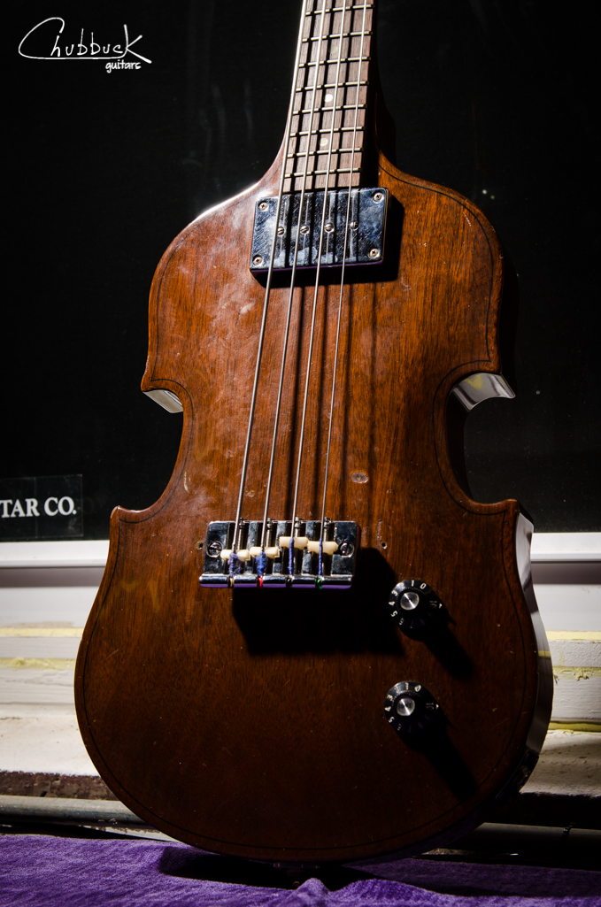 1969 Gibson EB-1 bass.
