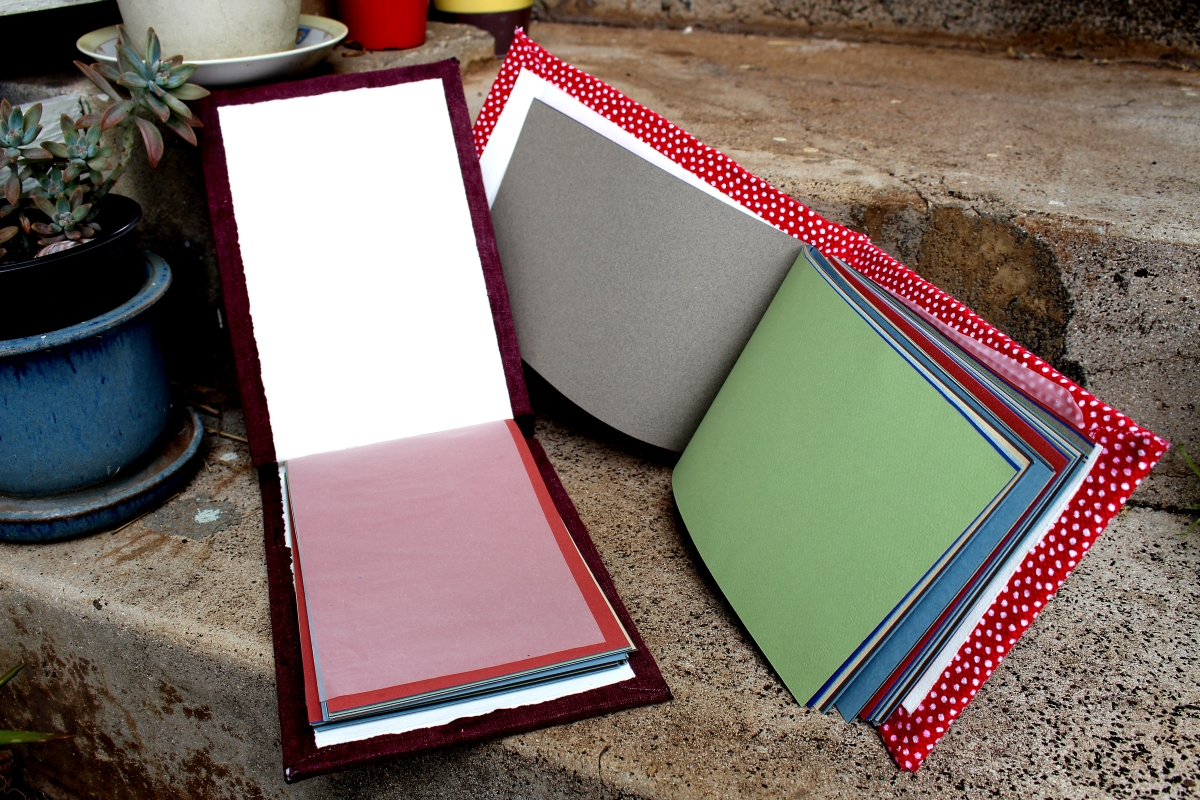 beautiful handmade books perfect for sketching and journals