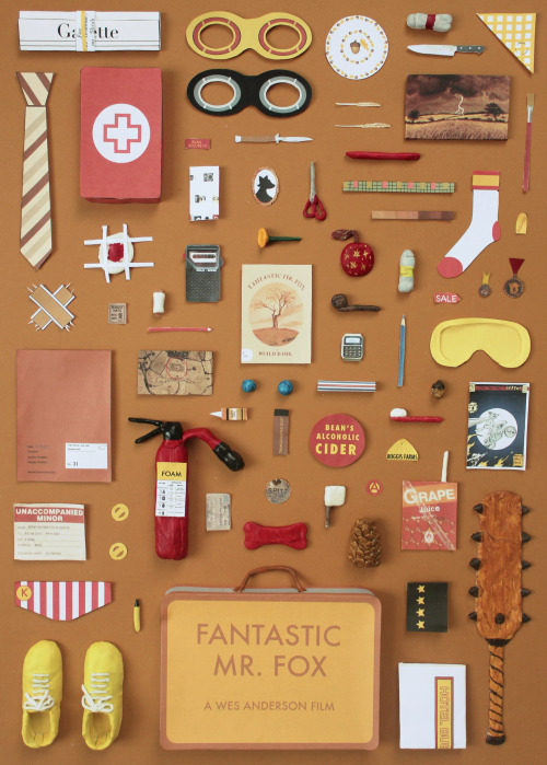 Wow! I think I might be  Jordan Bolton 's biggest fan! I loooove Wes Anderson, who is, of course, the king of hip organization.