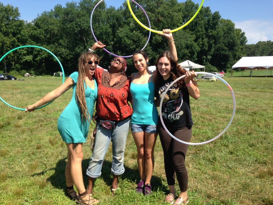 hula hoop troupe
