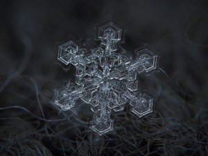 sacred geometry in snowflakes