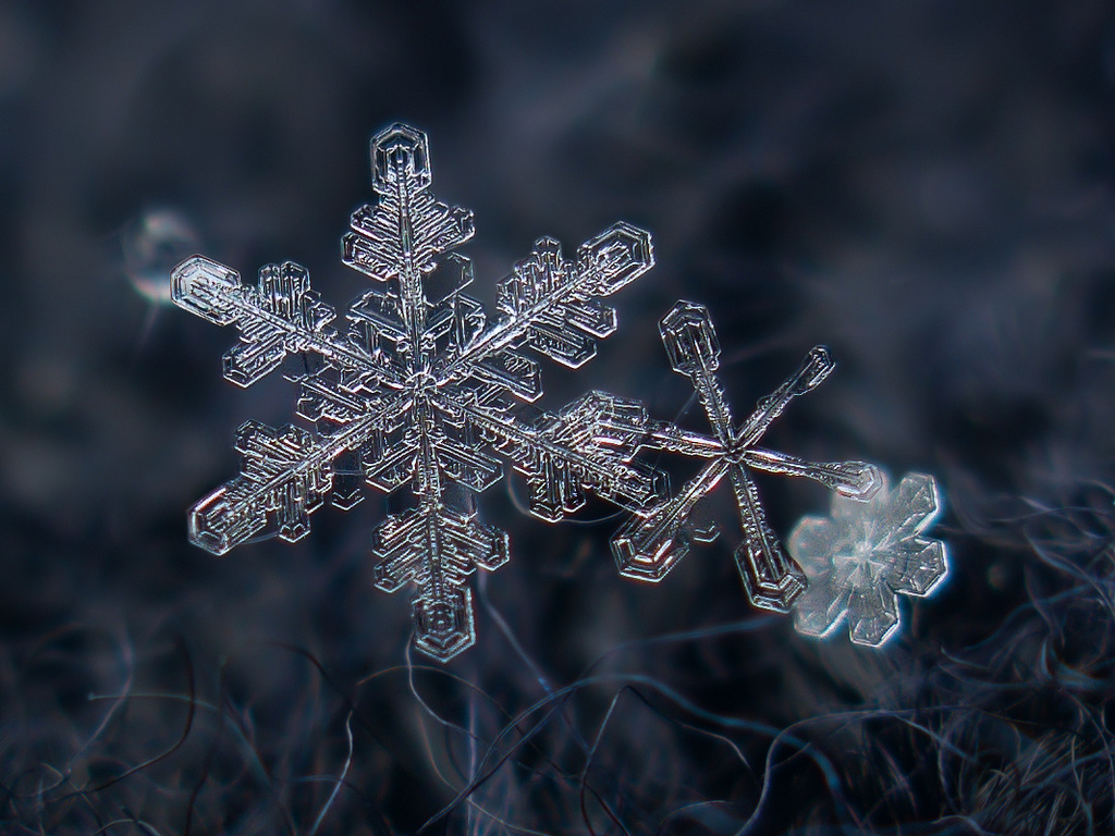 snowflake sacred geometry perfection