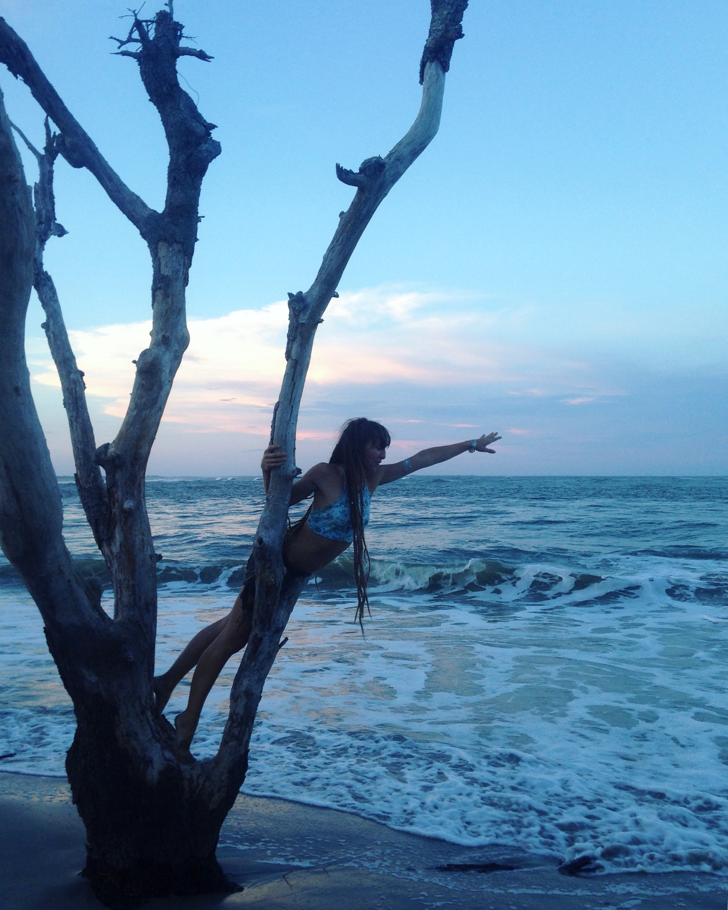 folly beach sc sunset
