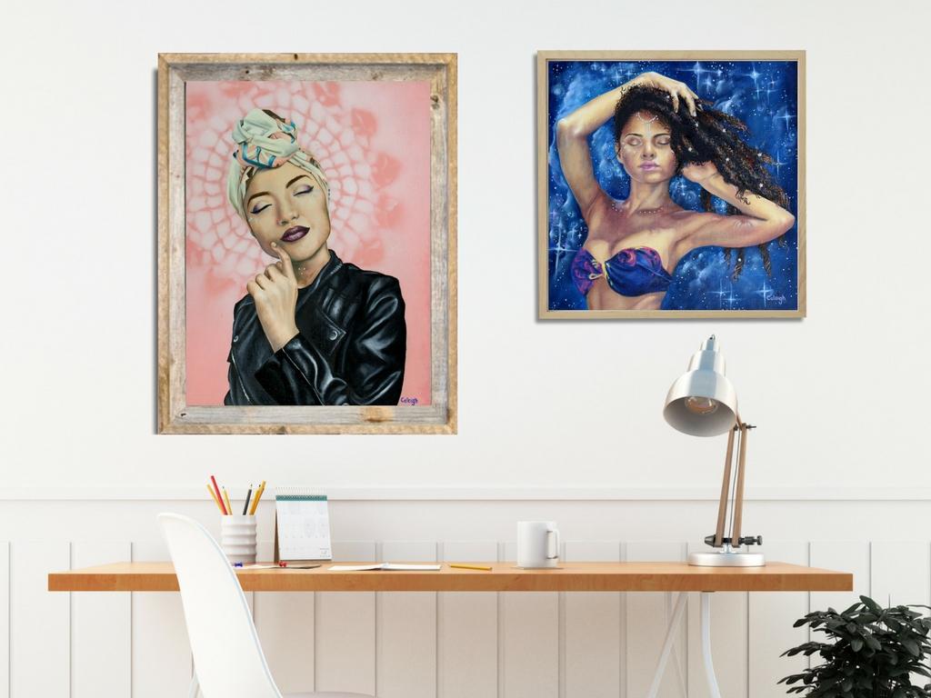 goddess paintings in oil