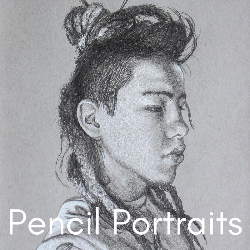 Pencil Portrait Gallery