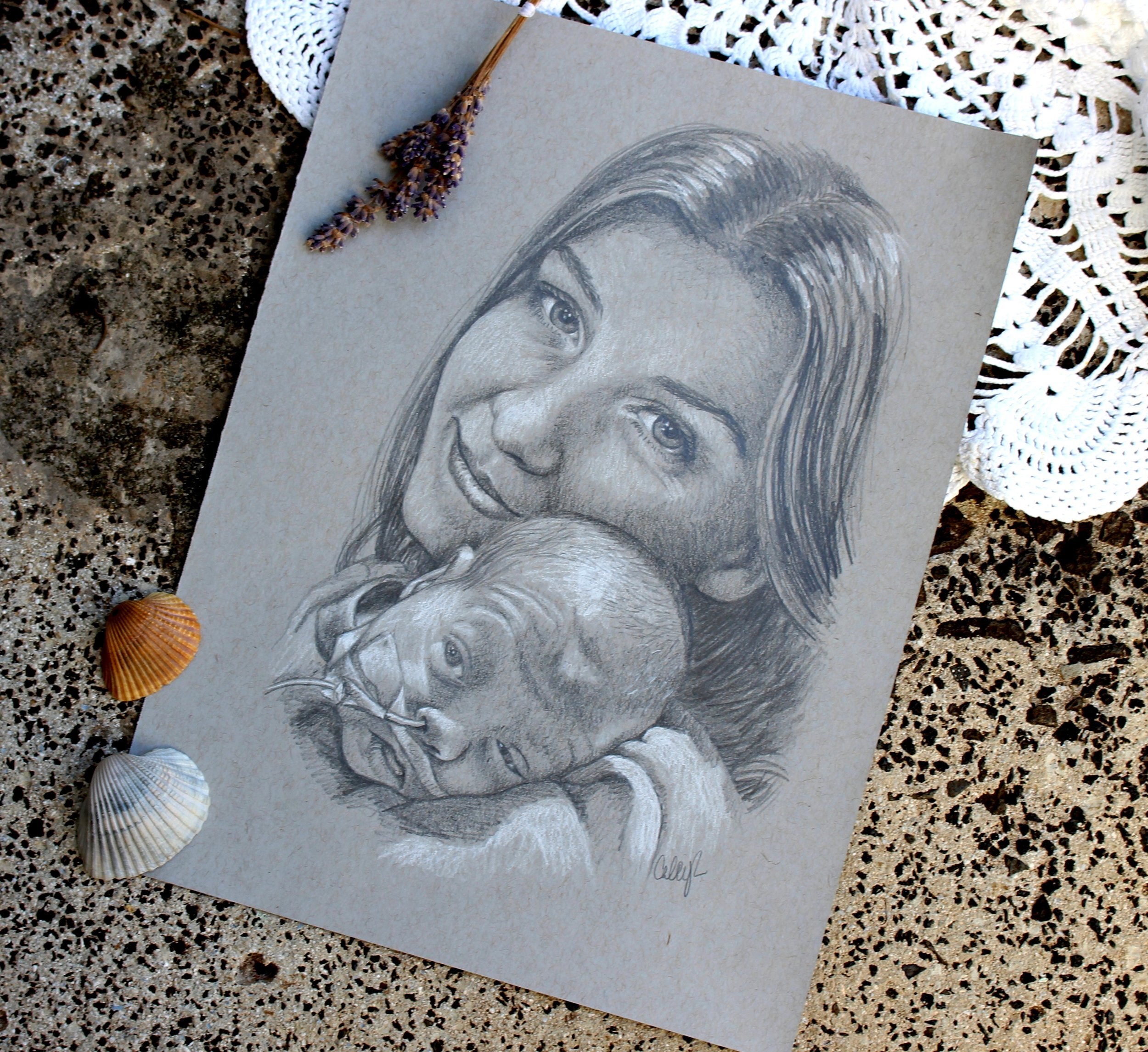 portrait of a premature baby