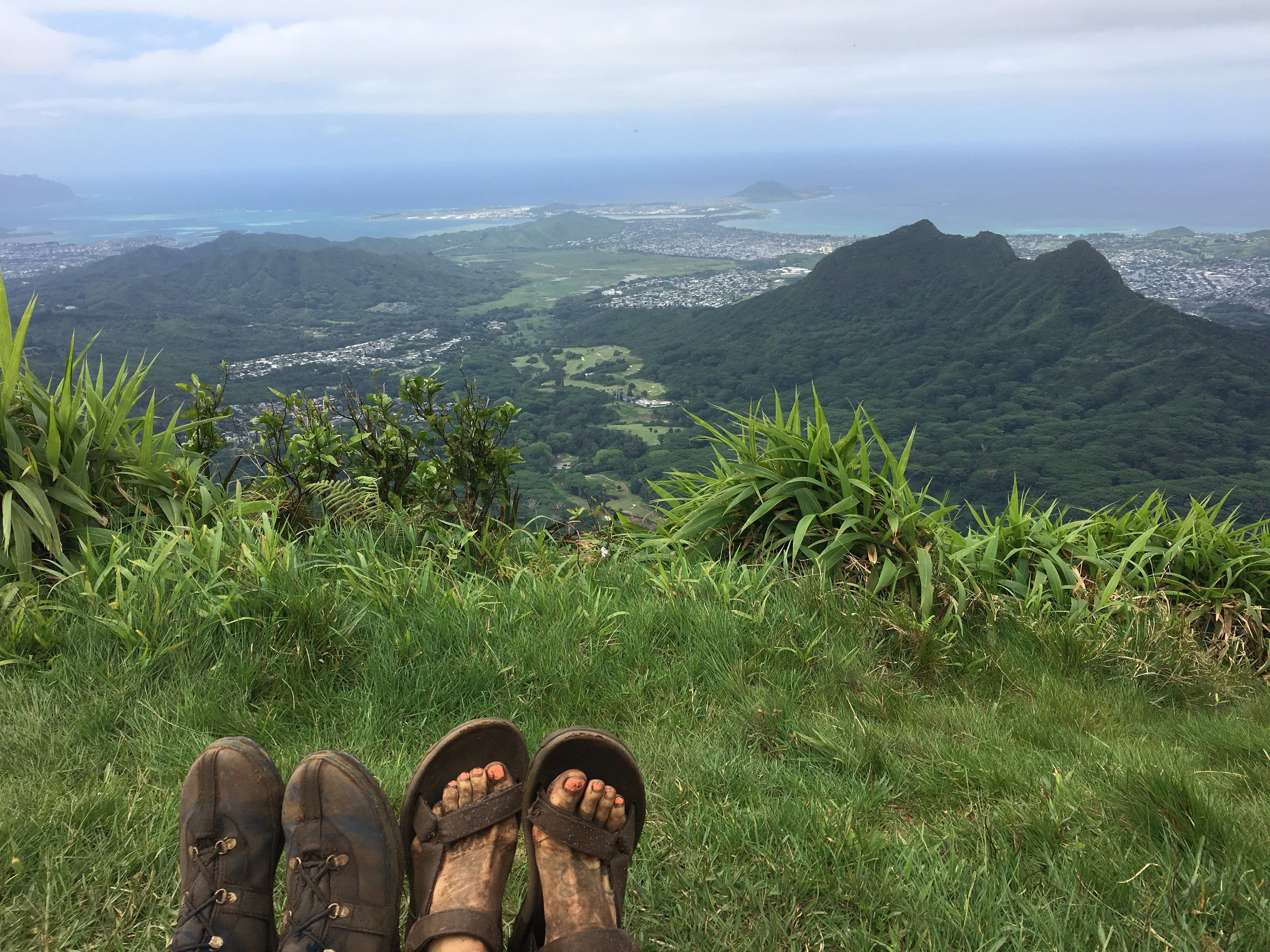overlooking oahu hikes