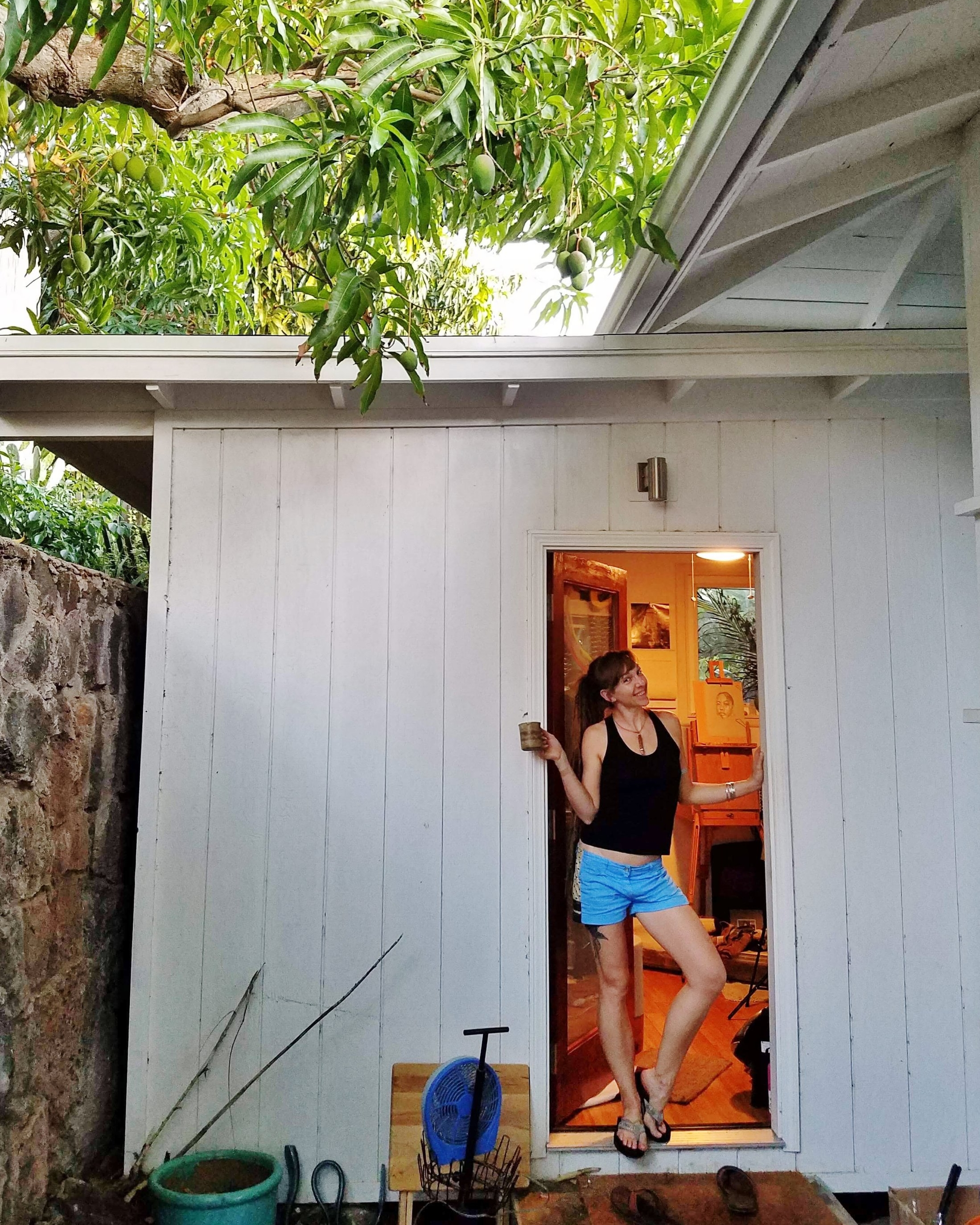 New Studio Sneak Peek - Happy Aloha Friday friends! I'm really excited to welcome you as one of the very first to see my brand new bungalow studio....