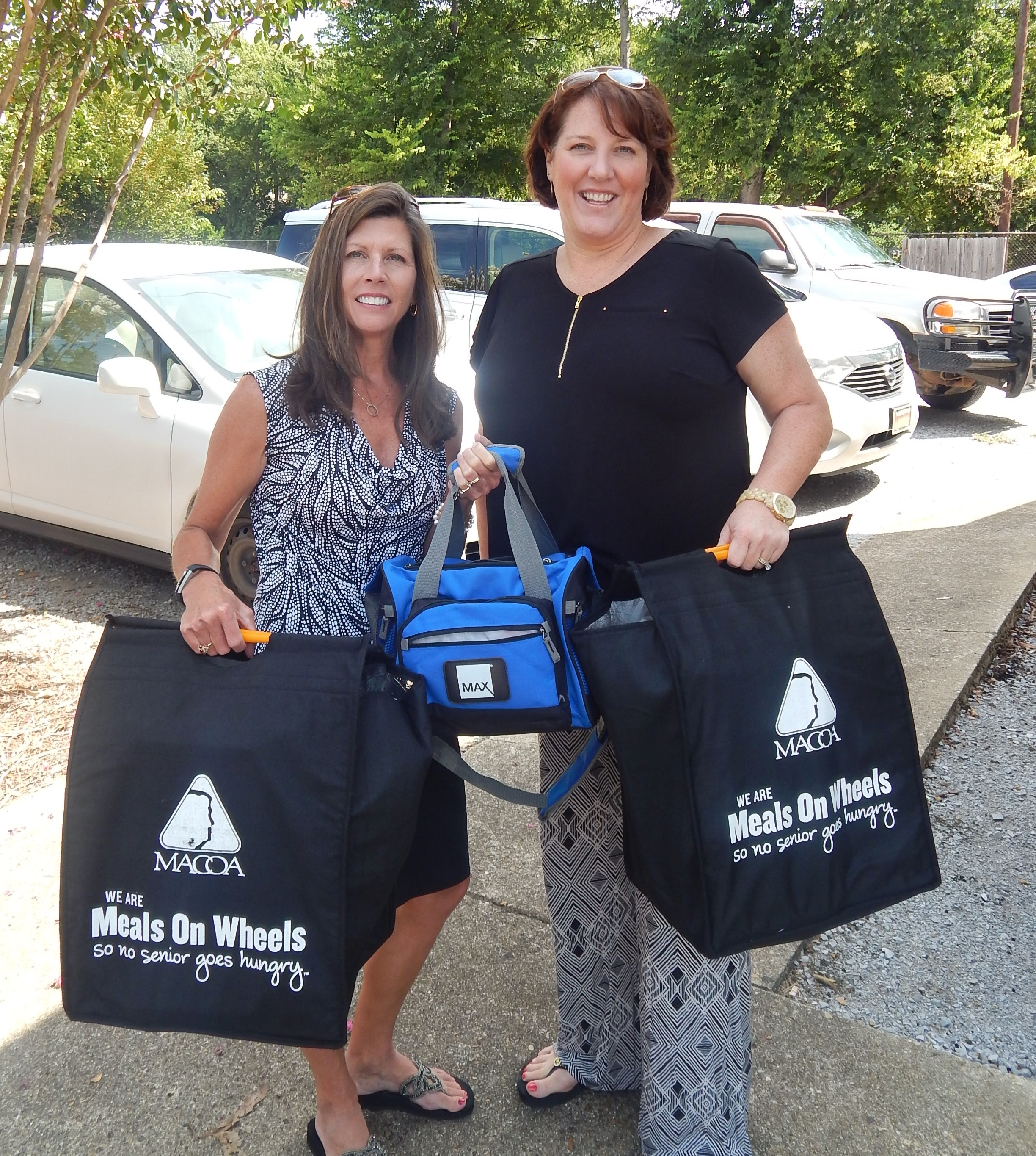 MAX Credit Union- Sandy Deininger and Wendy Anderson 8-18-16.JPG