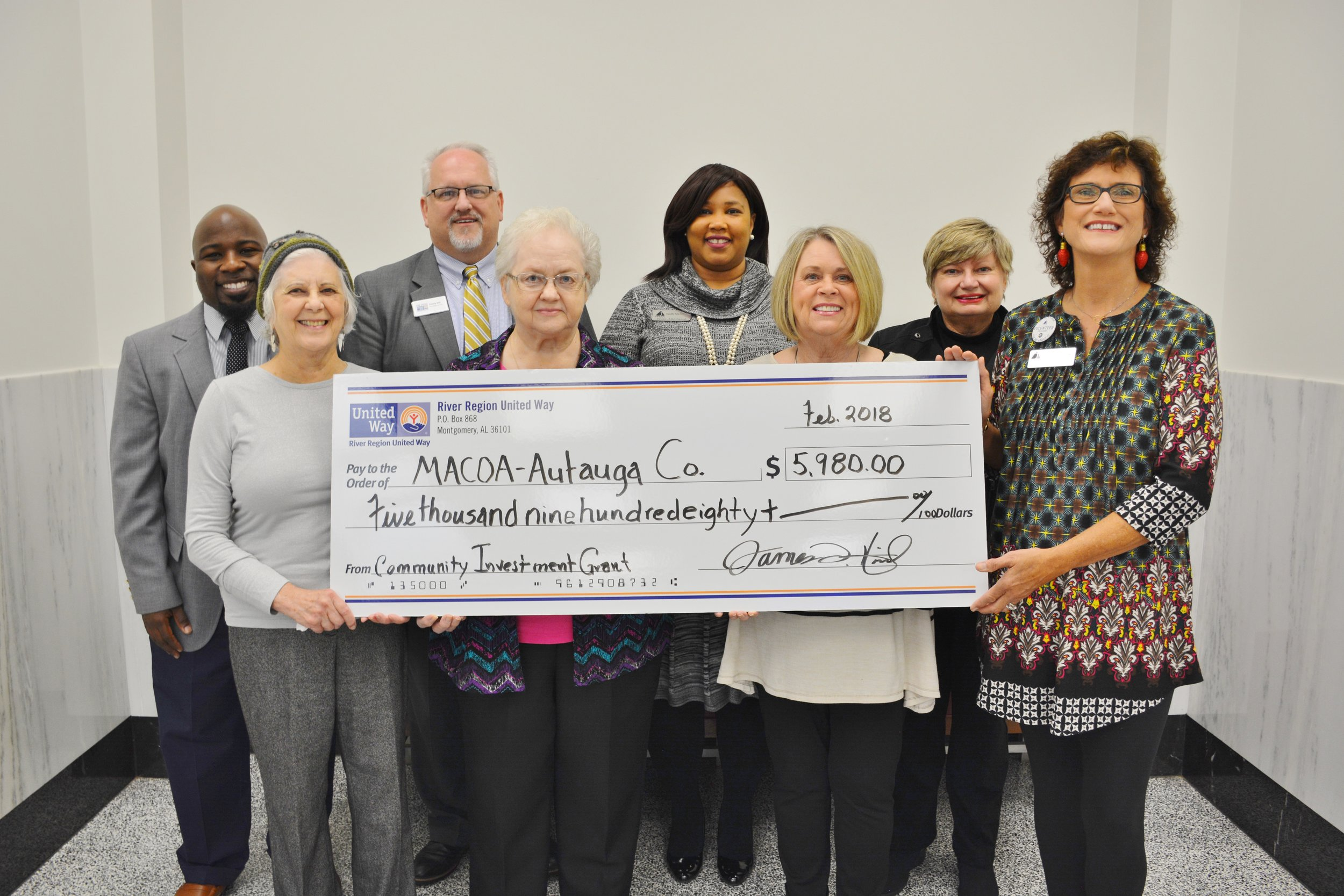 Autauga County United Way Community Investment Grant.JPG