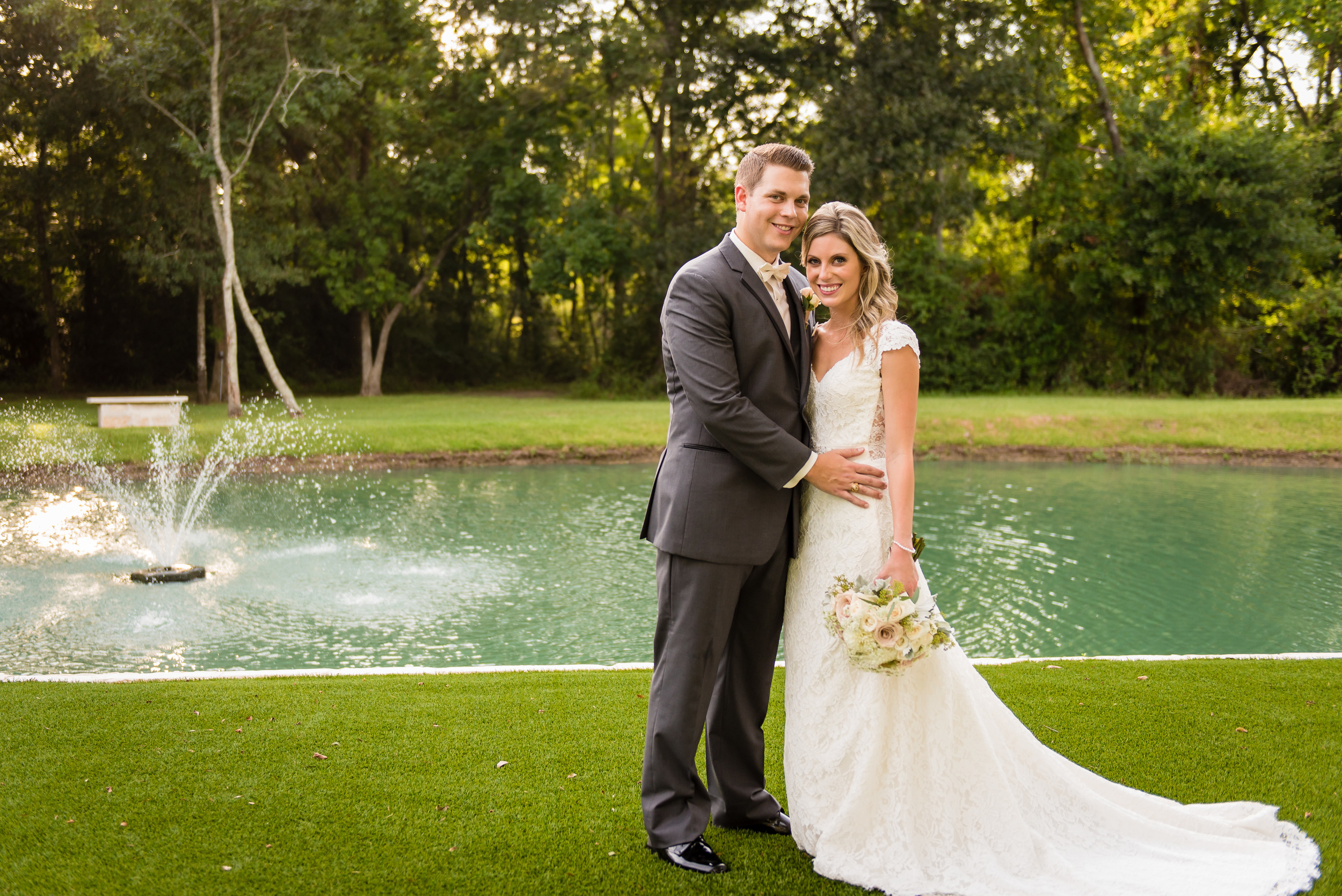 Plan Our Day Houston Wedding Planners | Pecan Springs Brookshire, TX | Classic Elegant Wedding