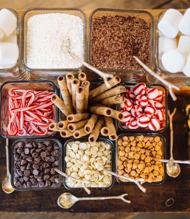 hot chocolate bar toppings