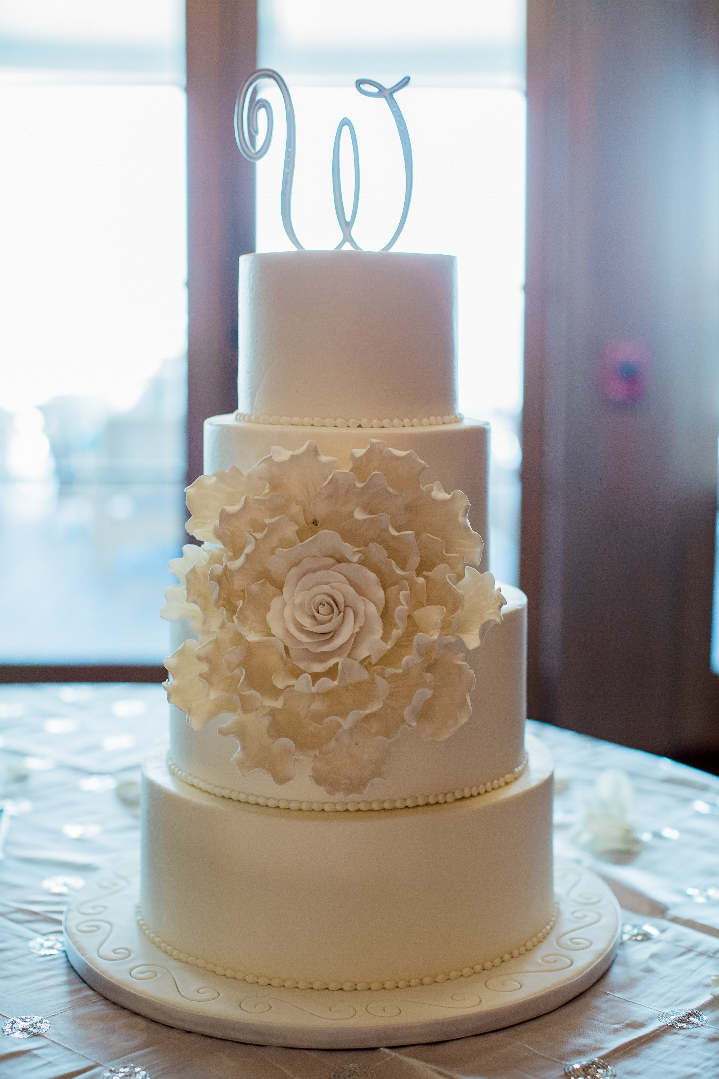 Plan Our Day Houston | Wedding Coordinators | Kemah, TX Wedding at Texas Corinithian Yacht Club Cakes by Gina