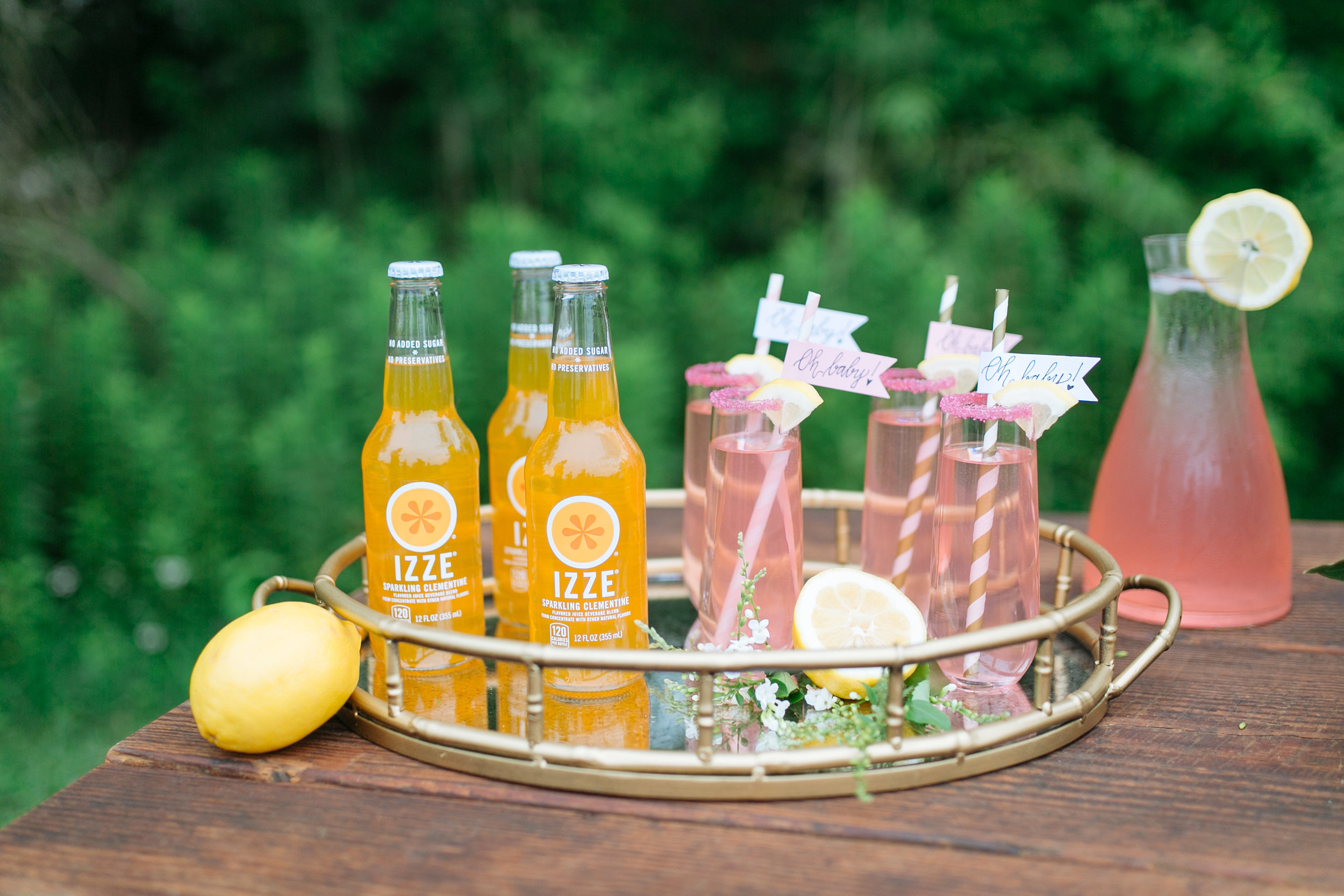 Houston Outdoor Baby Shower | Houston Event Planners | Baby Shower Ideas | Drink Ideas for a Baby Shower