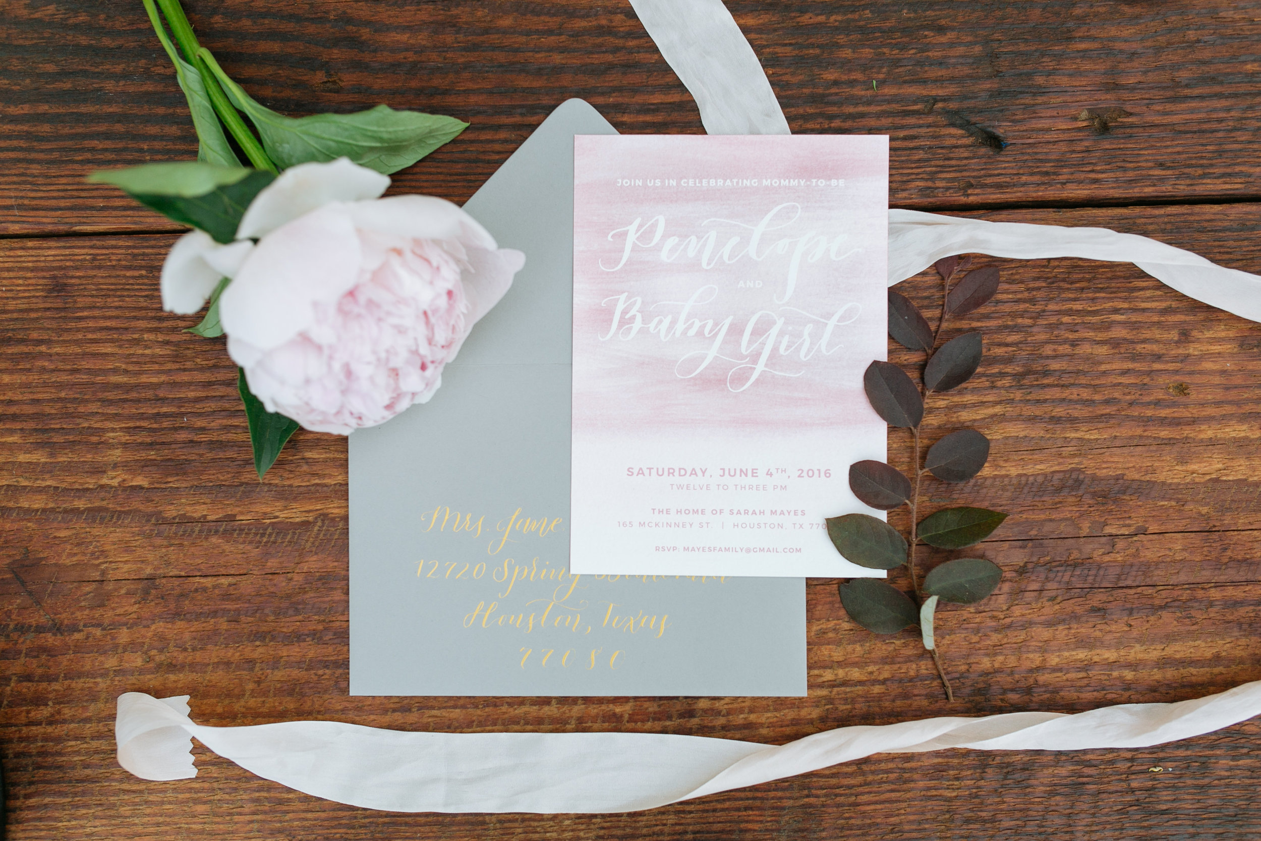 Houston Outdoor Baby Shower | Houston Event Planners | Baby Shower Ideas | Baby Shower Invitation