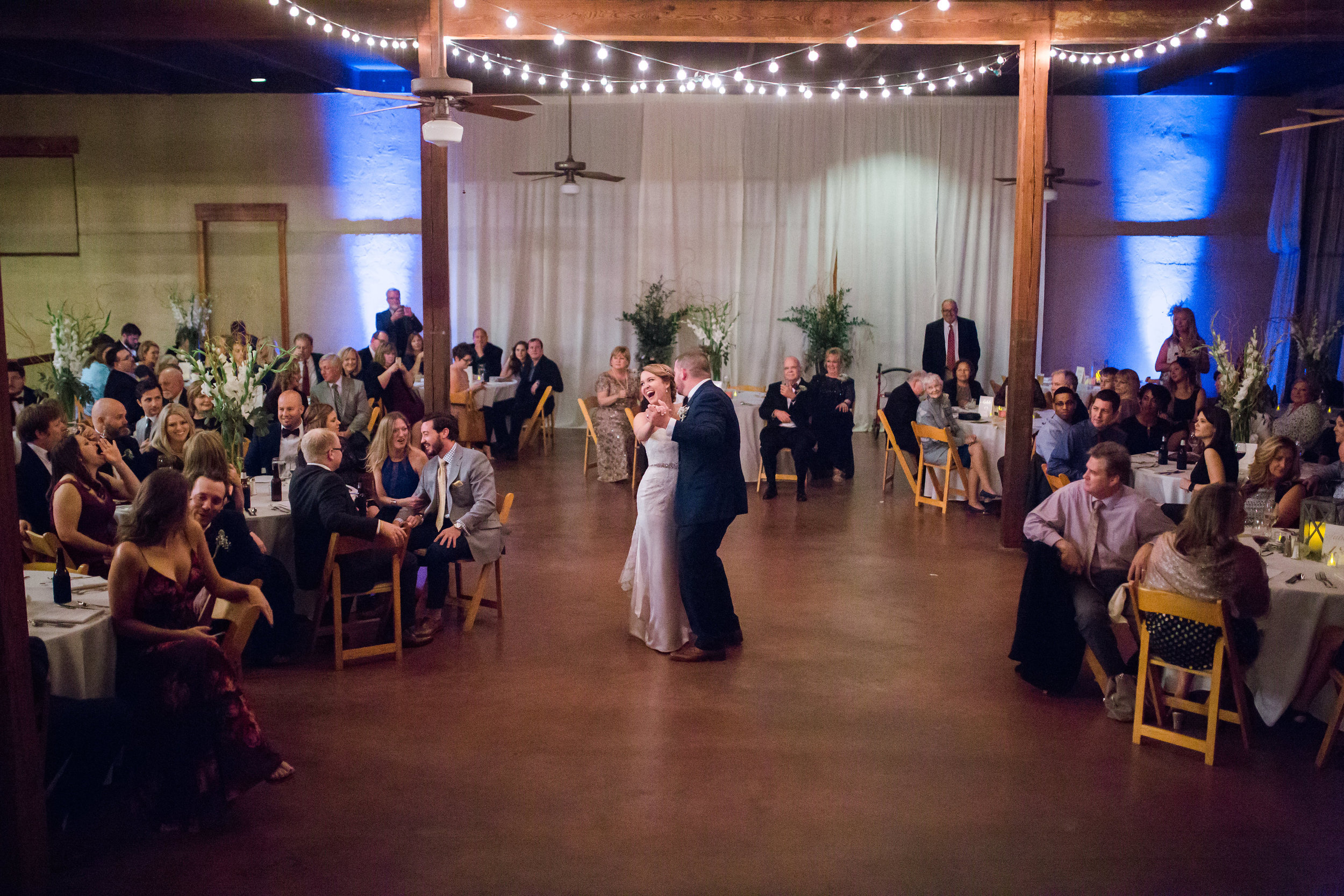 Wedding at the Trolley Station in Galveston, TX | Houston and Galveston Wedding Planners