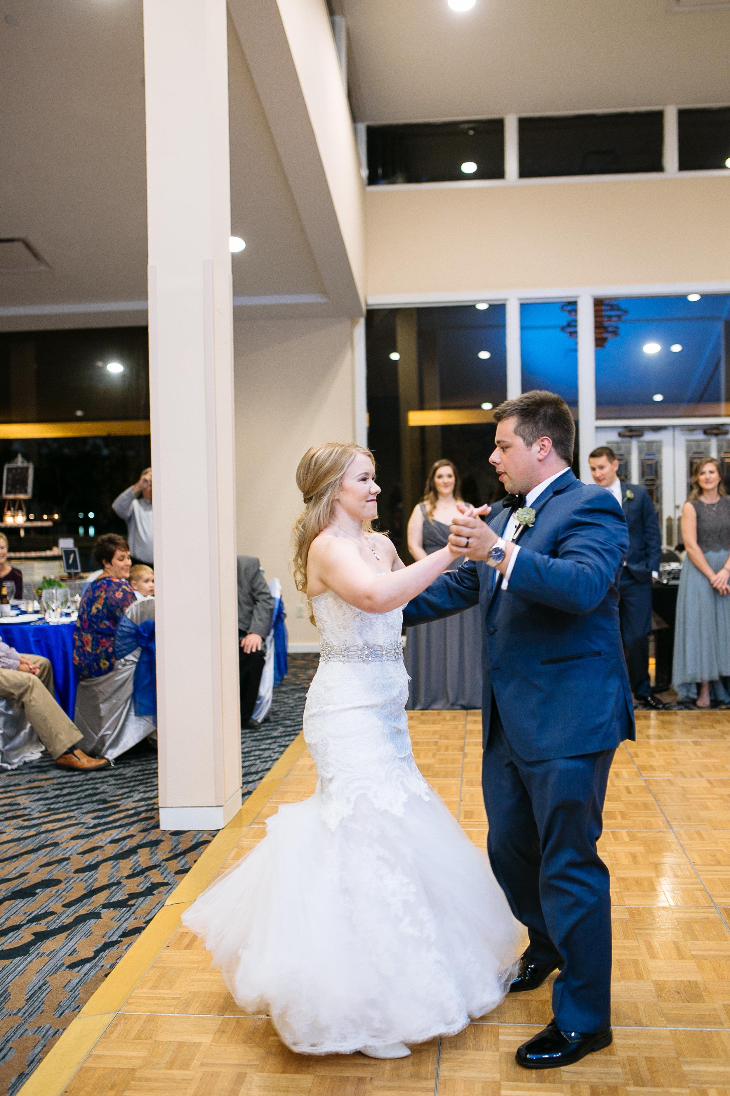 Sharing their first dance | Woodlands Resort Weddings