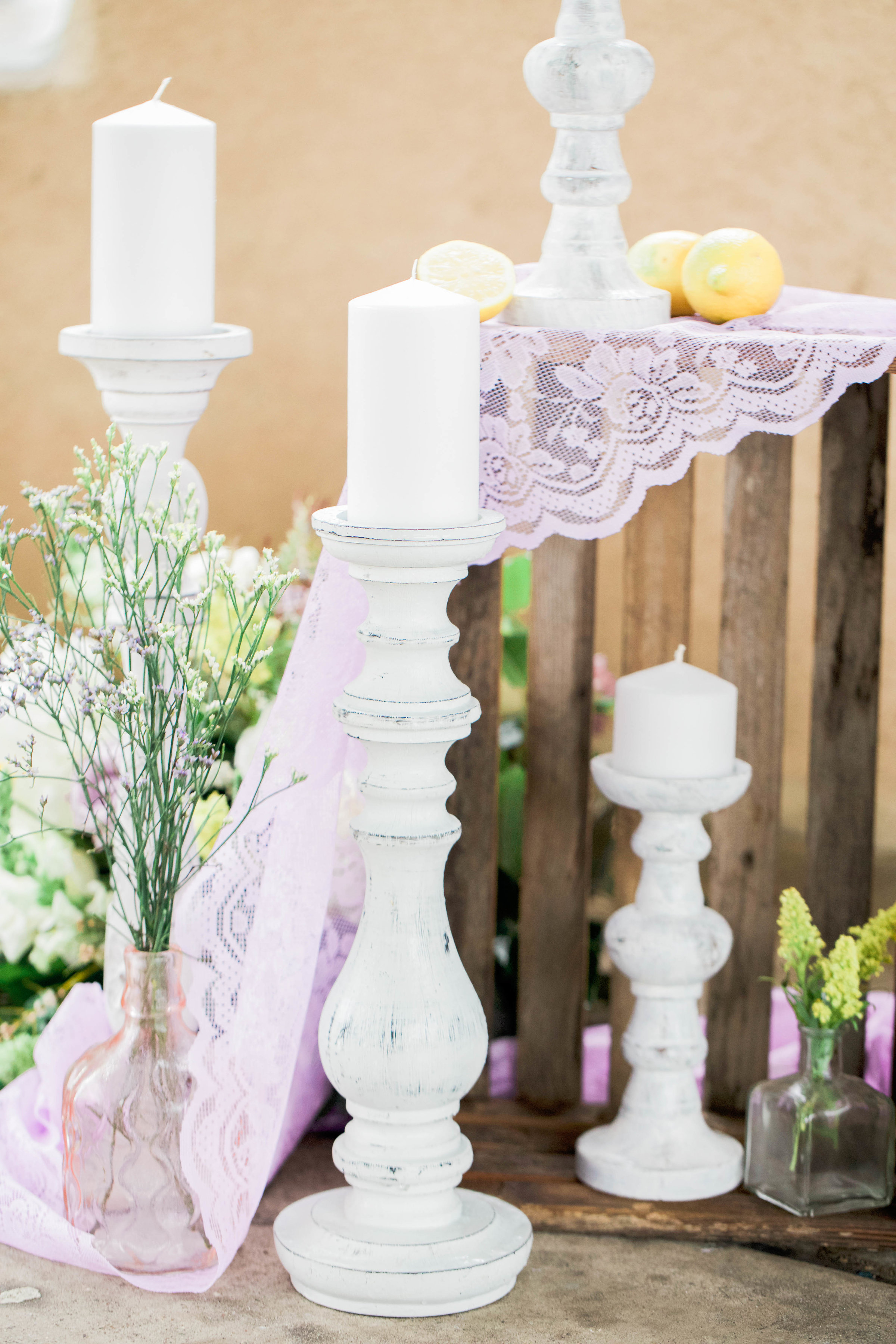 Bridal Shower Inspiration | Lavender and Lemons| Purple and Yellow Wedding