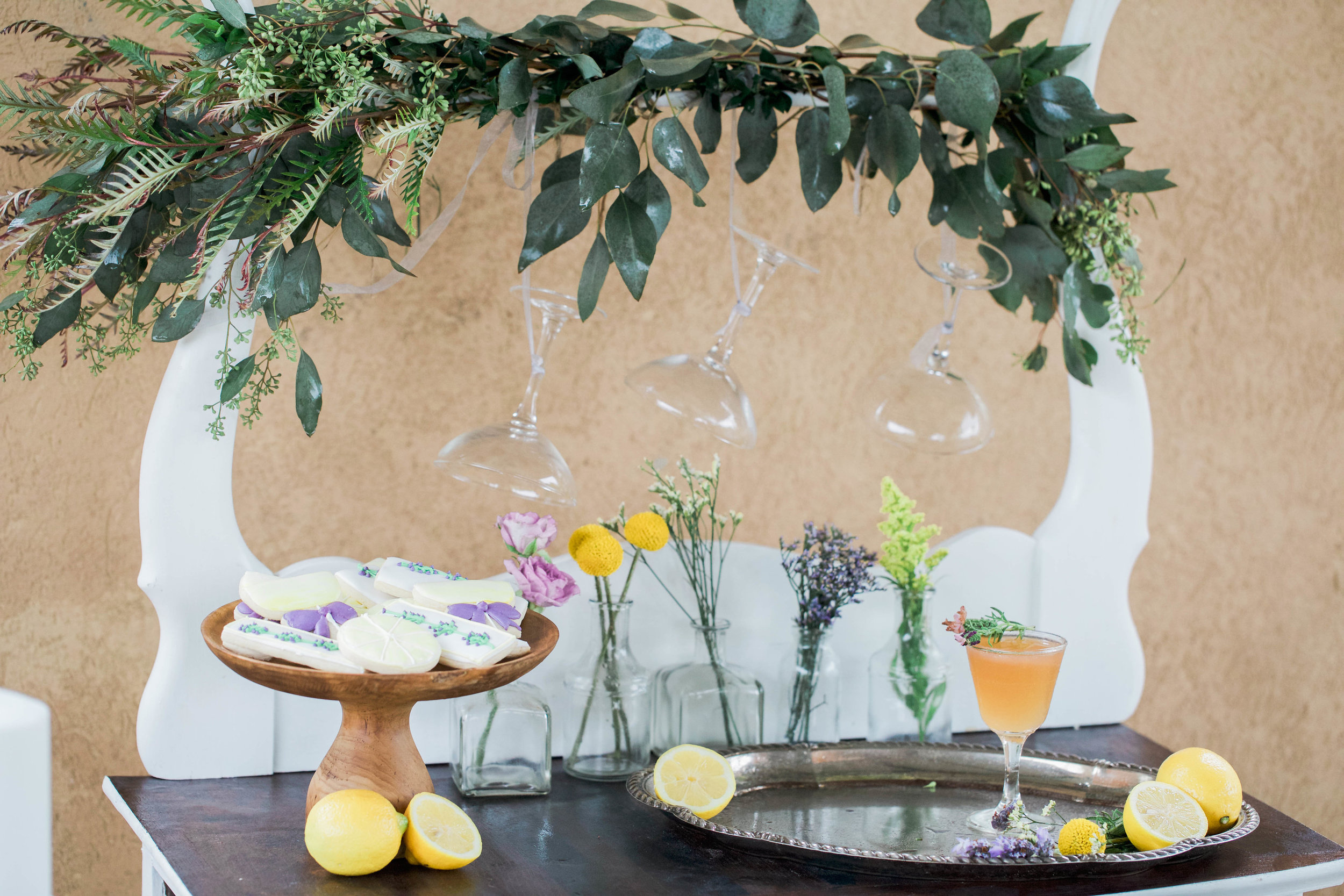 Bridal Shower Inspiration | Lavender and Lemons | Cocktail Ideas