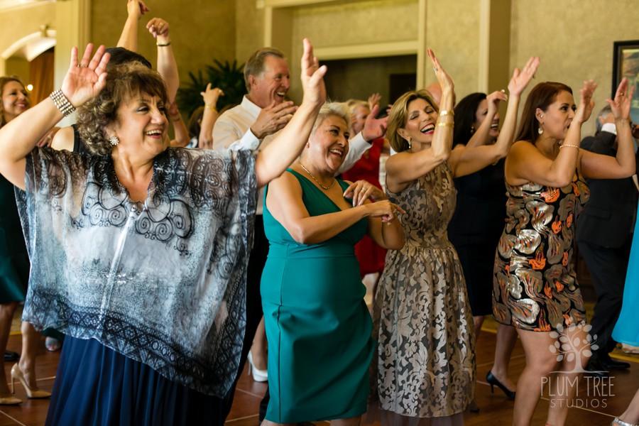 Crowded Dance Floor | Live Music Wedding Reception