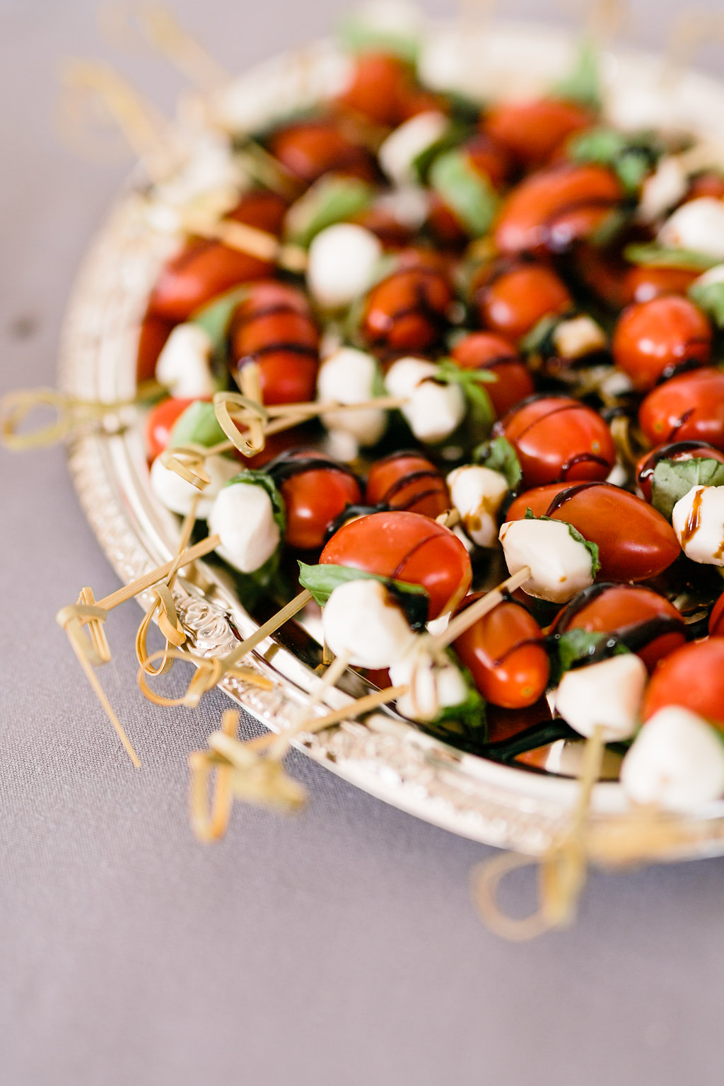 Catering by Purple Orchid Catering | Caprese Skewers