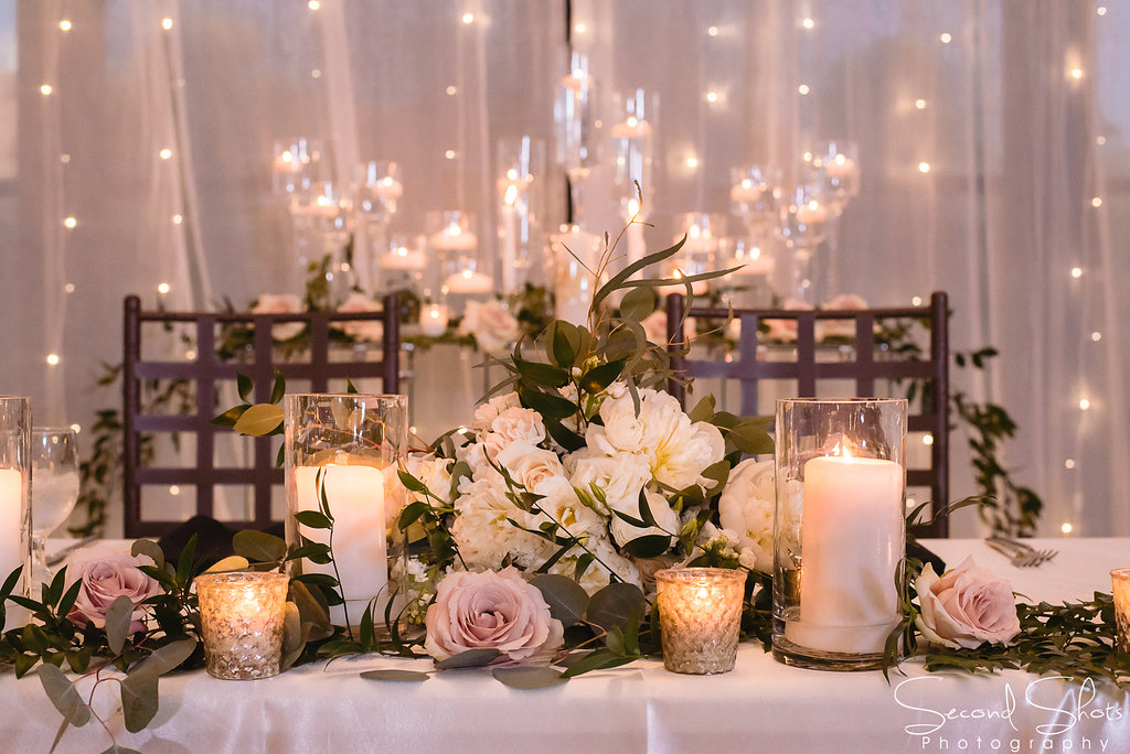 Sweetheart Table | Weddings at Noah's Event Venue| Weddings In Houston