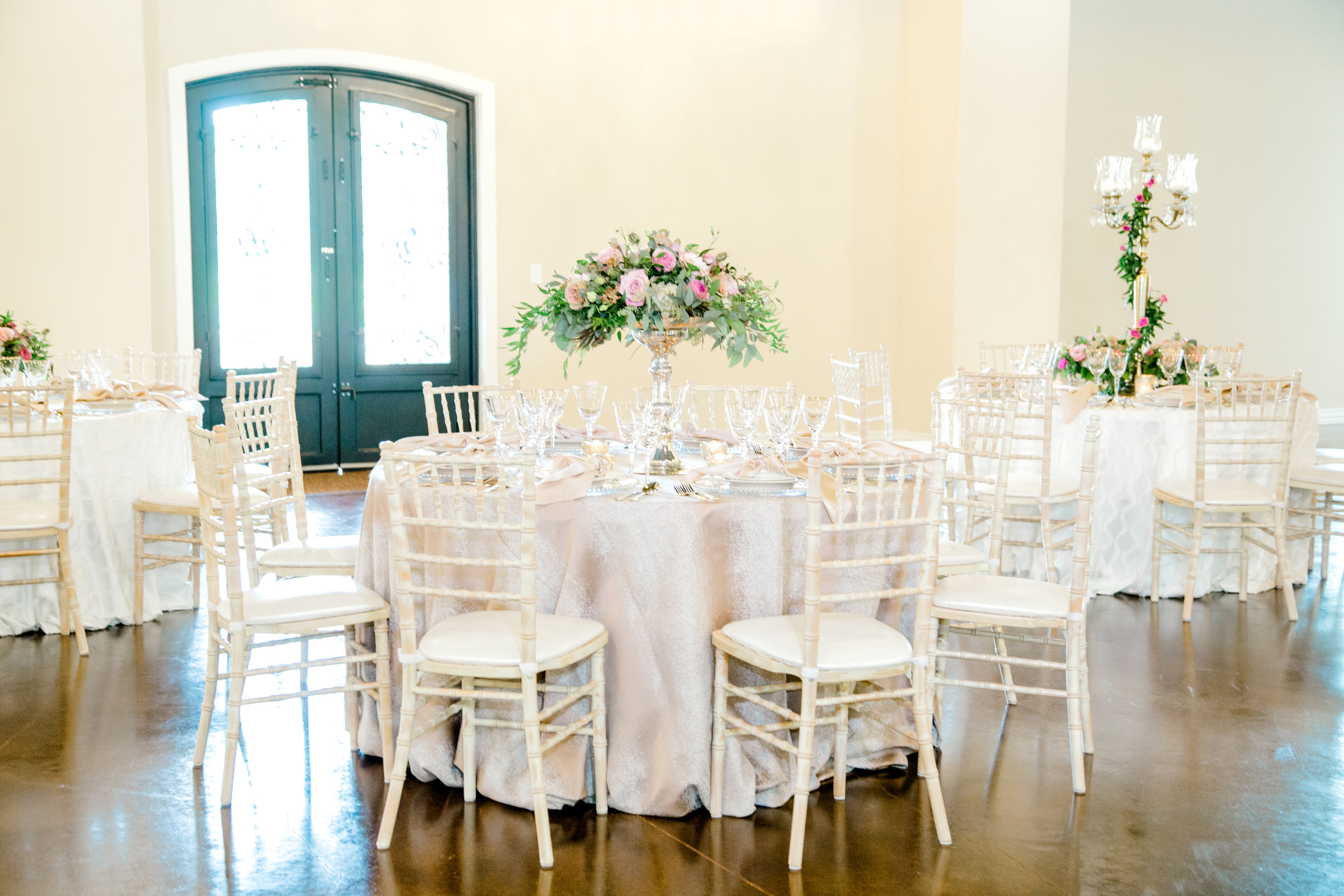 Southern Lace Estates | Mauve and White Wedding | Designed by Plan Our Day Houston