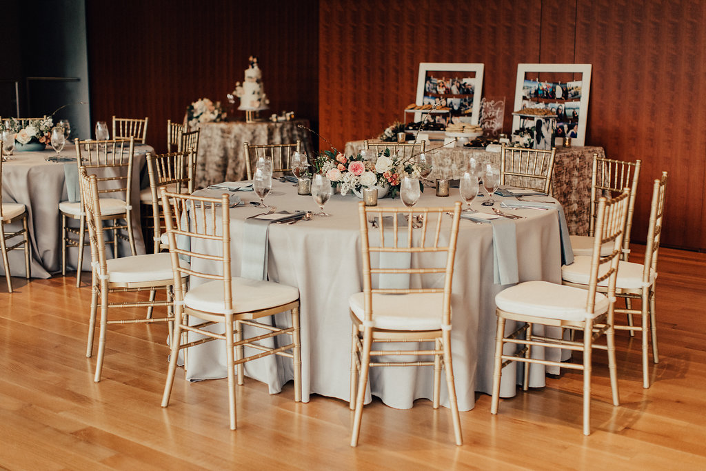 Modern Wedding at Asia Society Museum   Reception
