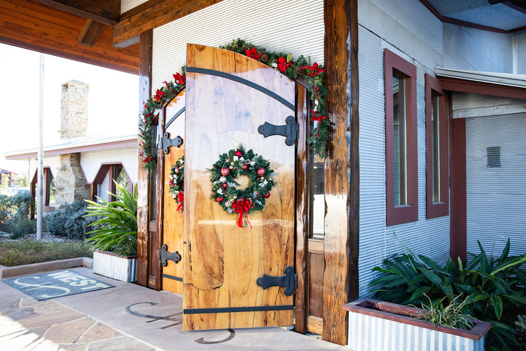 Cotton Gin Christmas Party | Christmas Decor in Houston