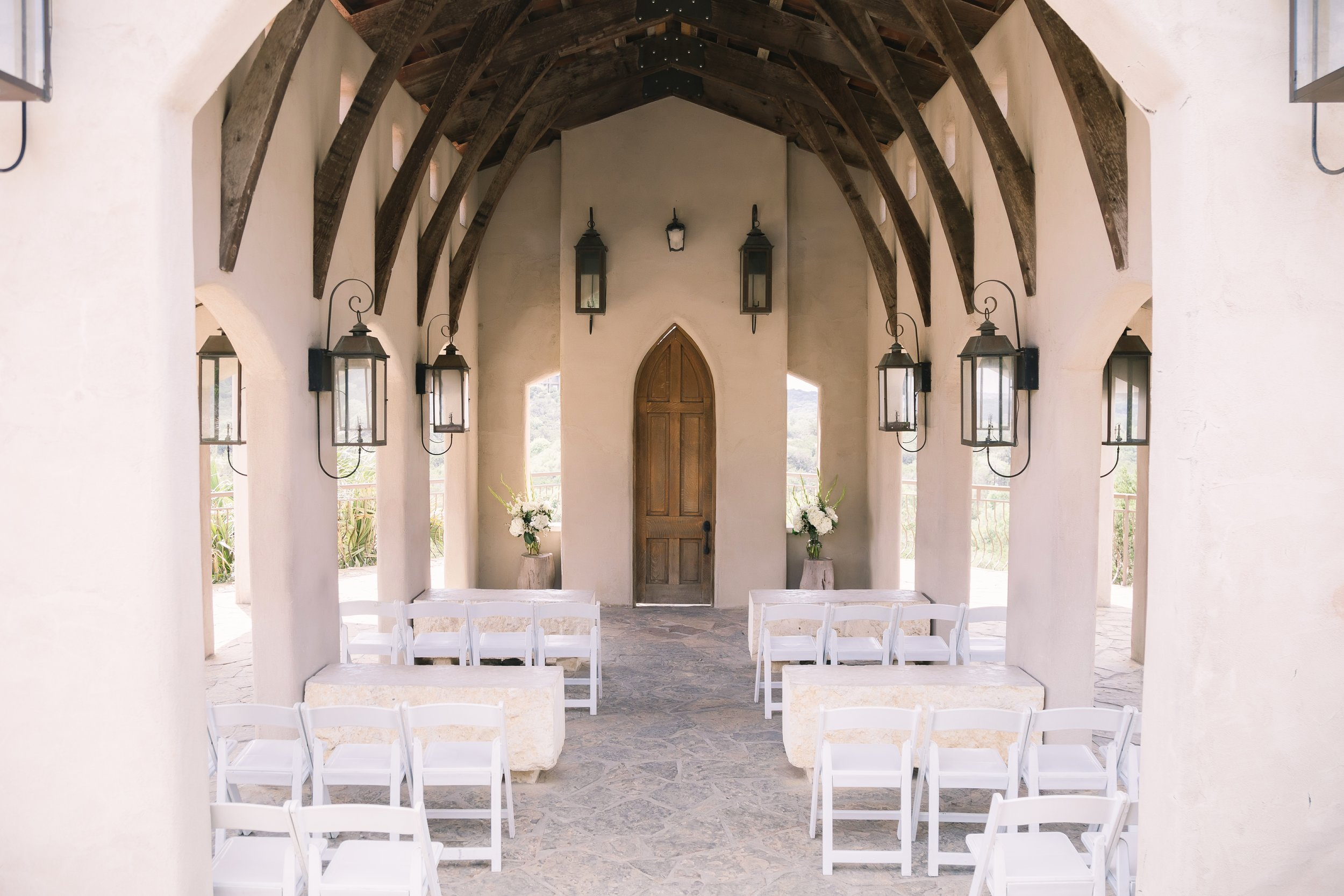 Chapel Dulcinea | Intimate wedding locations in Texas