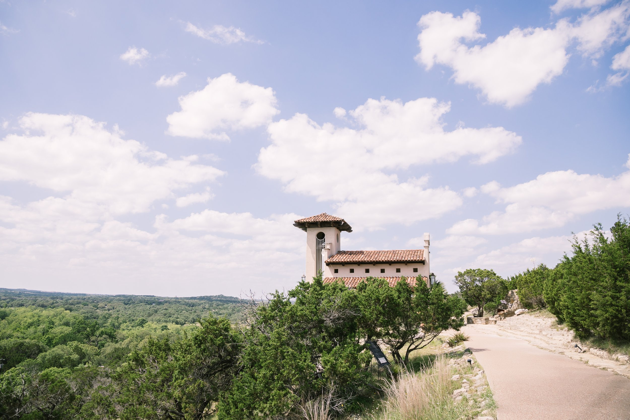 Hillside chapel location for Weddings | Austin Weddings