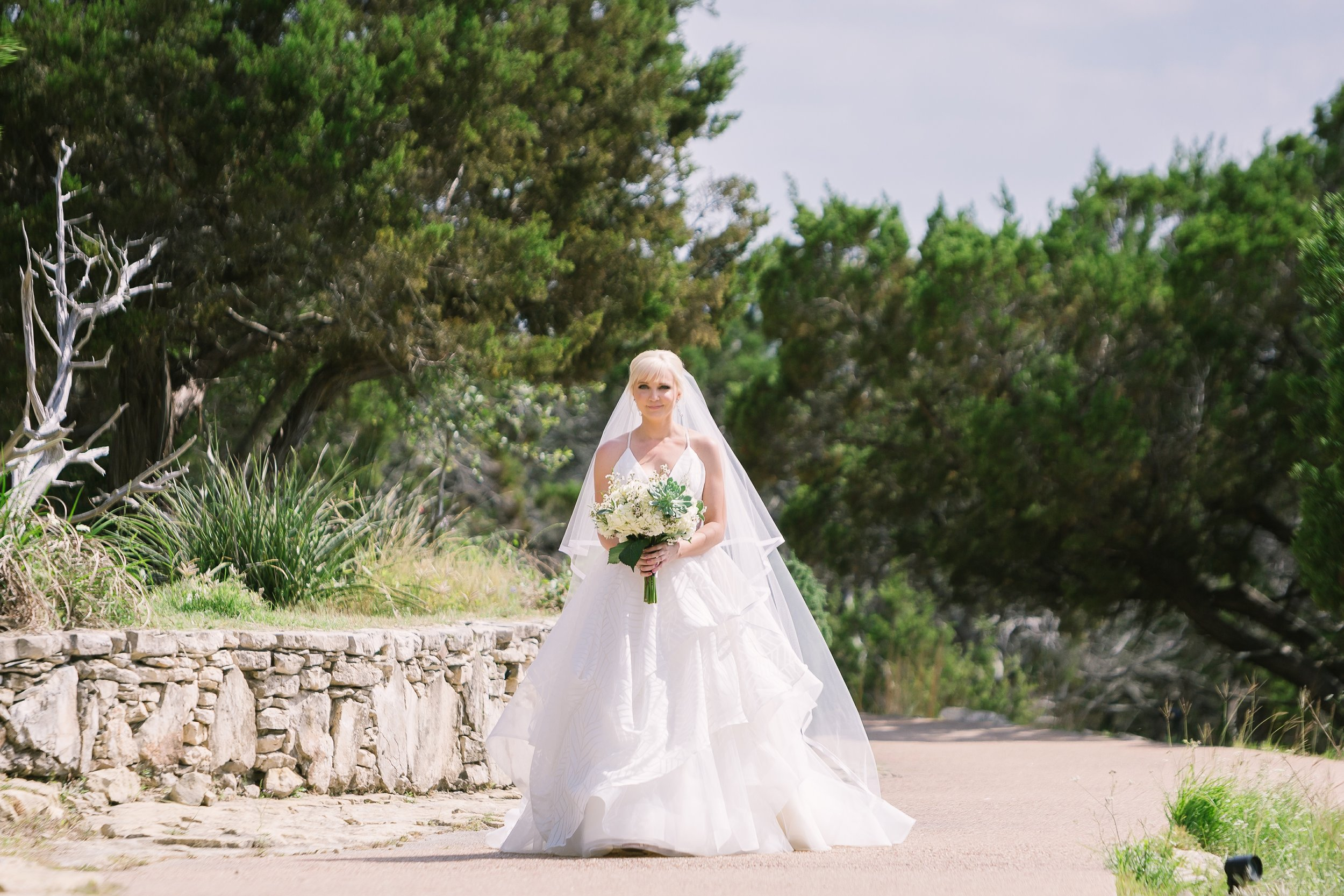 Bride's entrance | Hill Country Weddings at Chapel Dulcinea