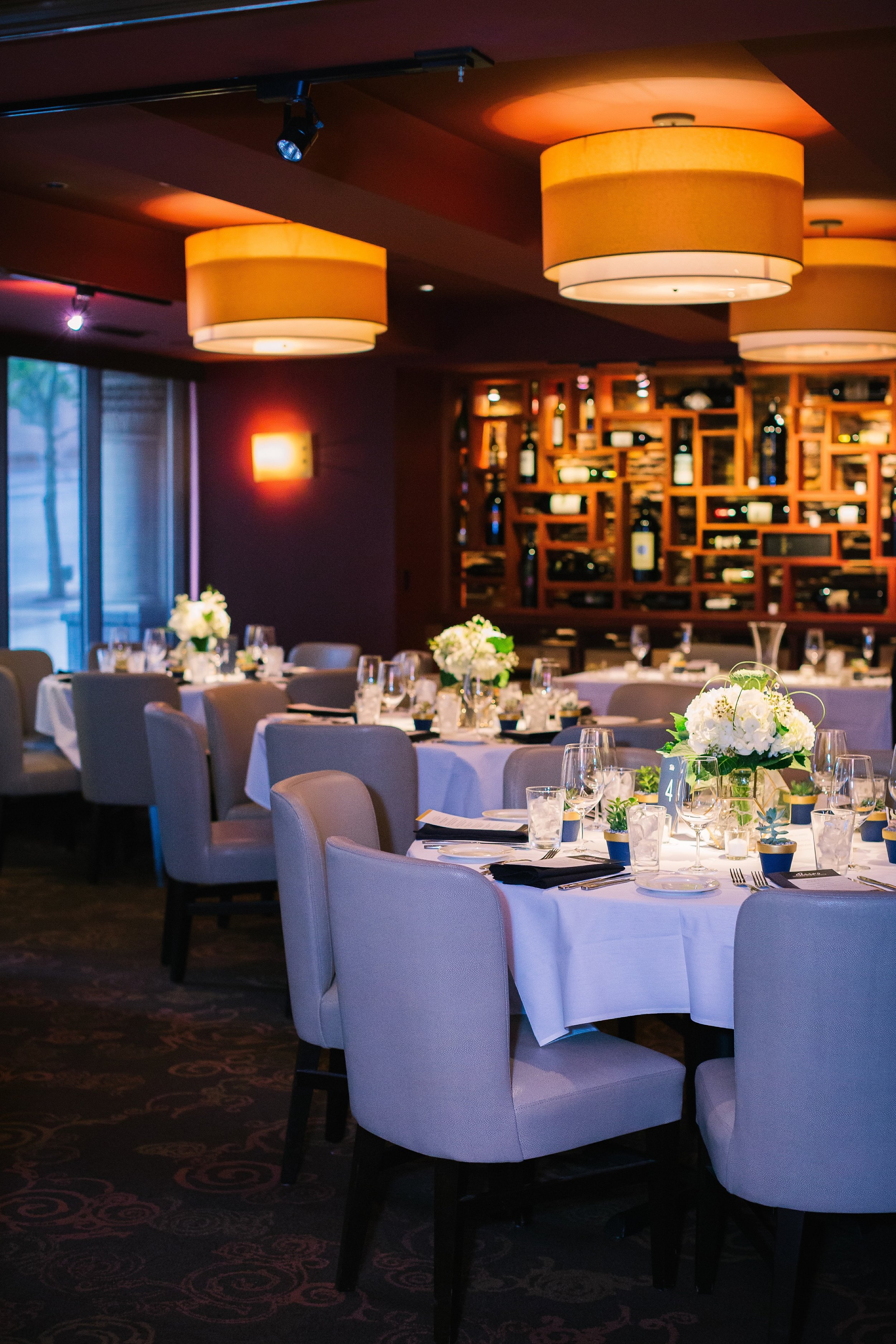 Perry's Steakhouse Wedding Reception | Austin Wedding Planners