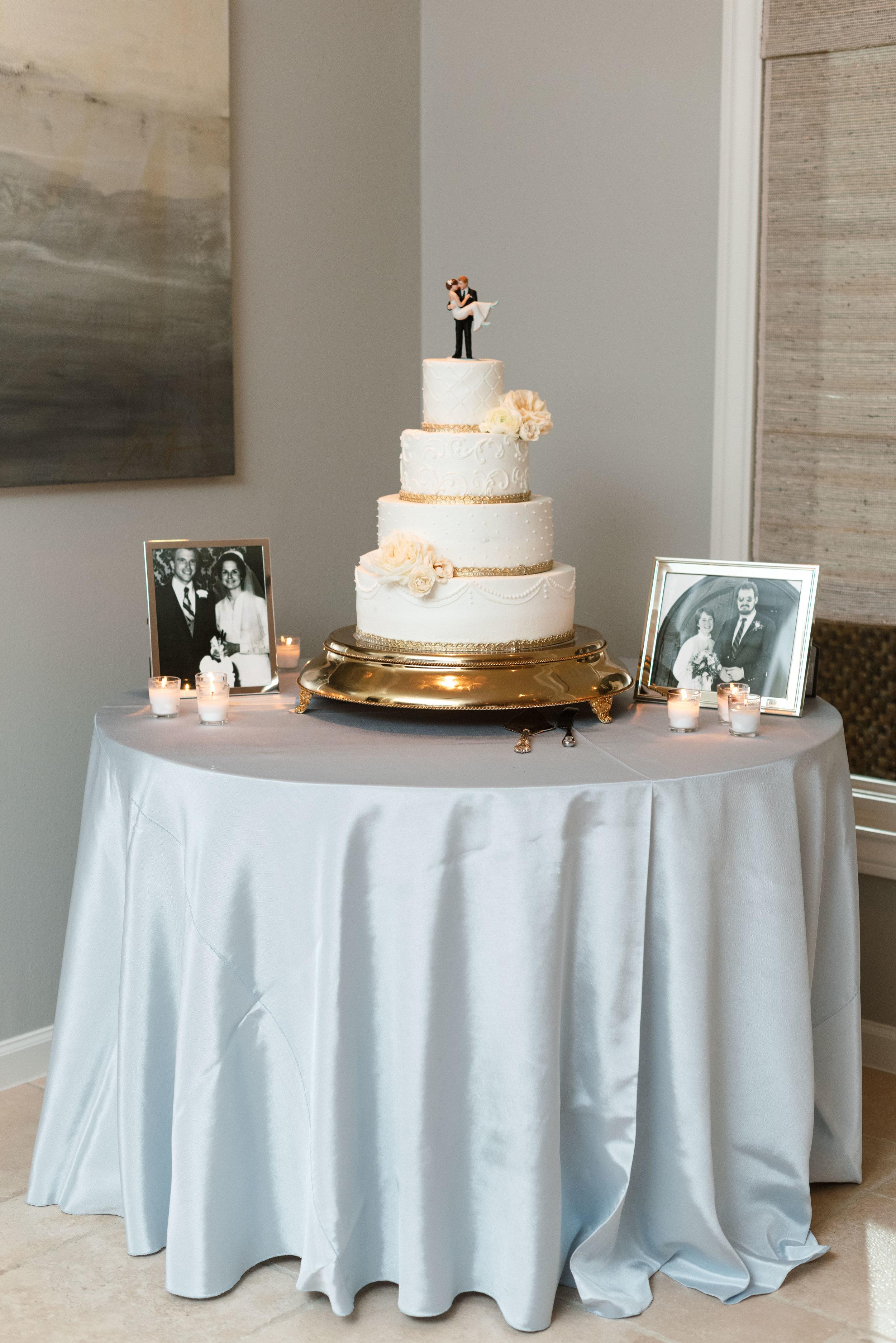 Who made the cake | Classic Wedding Cake Houston