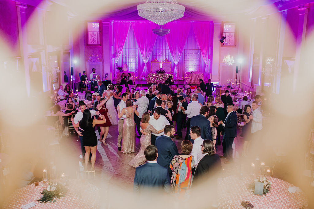 Wedding Reception Party at The Heights Villa| Houston Weddings