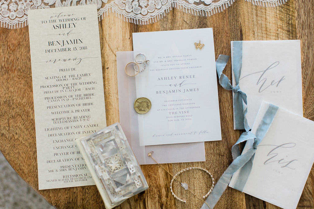 Elegant stationary | Houston Weddings